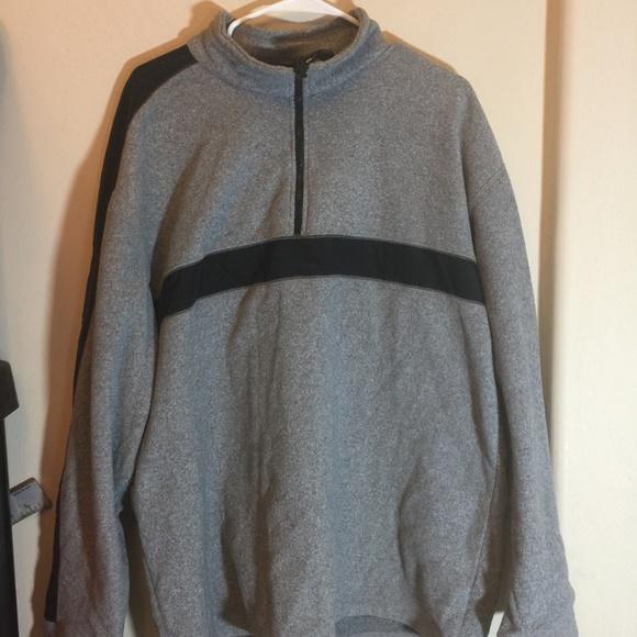 b28da85d Tommy Hilfiger Jackets & Coats   Vintage Spellout Half Zip Fleece ...
